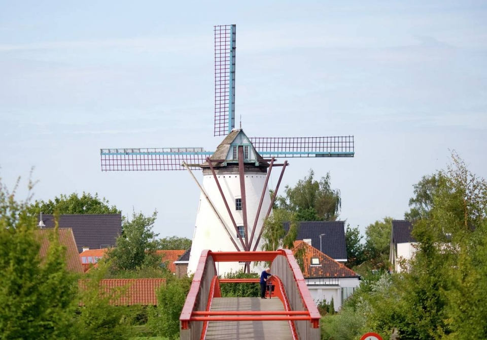 Briekemolen in Wervik